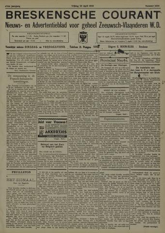 Breskensche Courant 1938-04-22