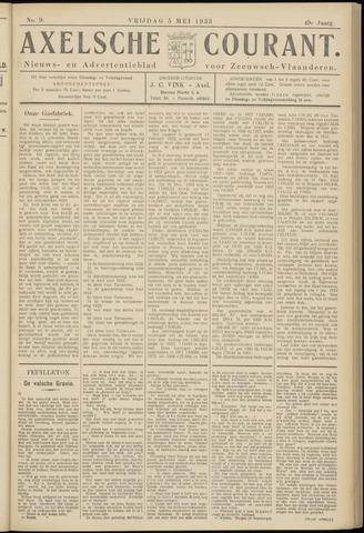 Axelsche Courant 1933-05-05
