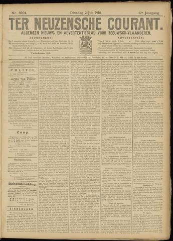 Ter Neuzensche Courant. Algemeen Nieuws- en Advertentieblad voor Zeeuwsch-Vlaanderen / Neuzensche Courant ... (idem) / (Algemeen) nieuws en advertentieblad voor Zeeuwsch-Vlaanderen 1918-07-02