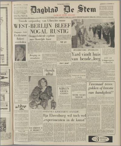 de Stem 1963-08-14