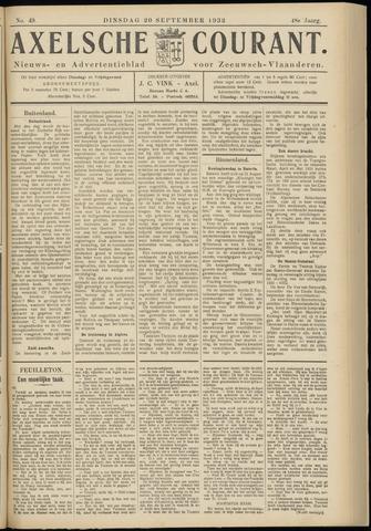 Axelsche Courant 1932-09-20