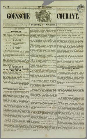 Goessche Courant 1859-11-17