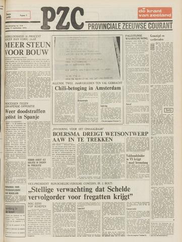 Provinciale Zeeuwse Courant 1975-09-12