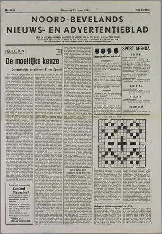 Noord-Bevelands Nieuws- en advertentieblad 1983-01-13