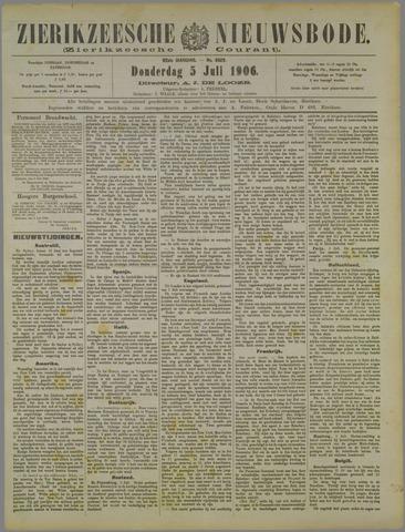 Zierikzeesche Nieuwsbode 1906-07-05