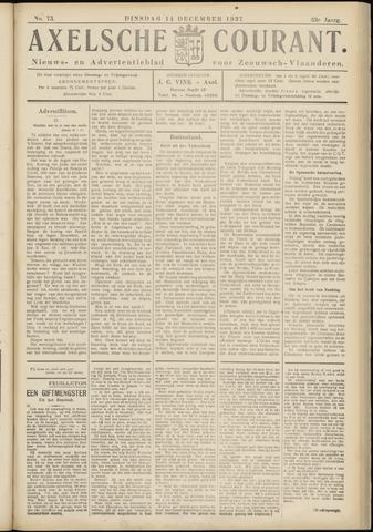 Axelsche Courant 1937-12-14
