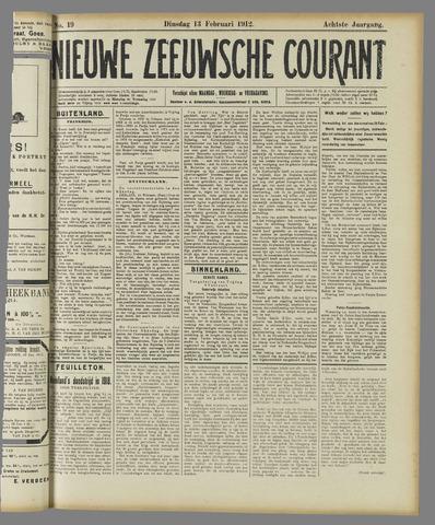 Nieuwe Zeeuwsche Courant 1912-02-13