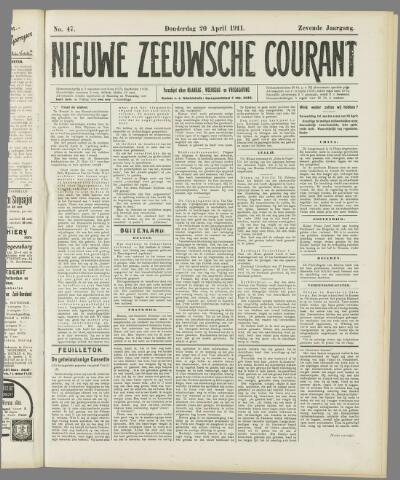 Nieuwe Zeeuwsche Courant 1911-04-20