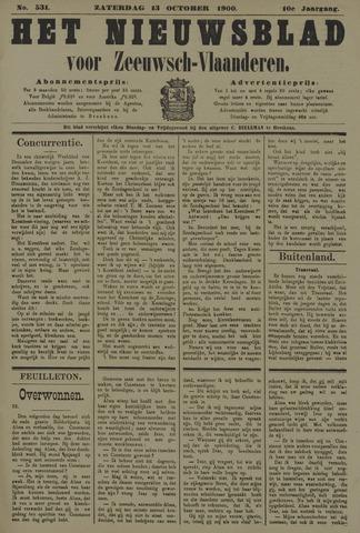 Nieuwsblad voor Zeeuwsch-Vlaanderen 1900-10-13