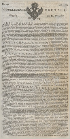 Middelburgsche Courant 1776-12-10