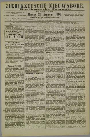 Zierikzeesche Nieuwsbode 1900-08-21