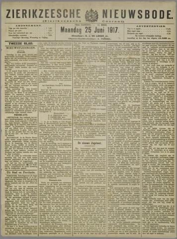 Zierikzeesche Nieuwsbode 1917-06-25