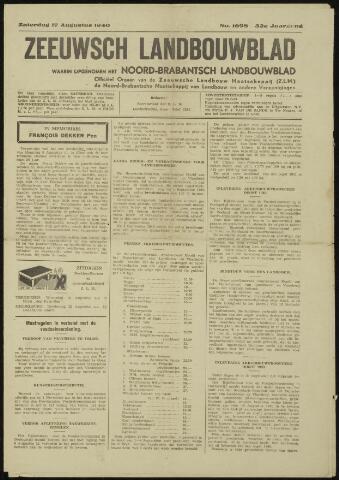 Zeeuwsch landbouwblad ... ZLM land- en tuinbouwblad 1940-08-17