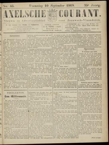 Axelsche Courant 1919-09-10