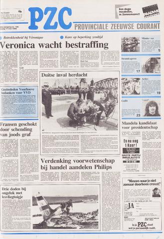 Provinciale Zeeuwse Courant 1990-05-11