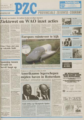 Provinciale Zeeuwse Courant 1991-07-10