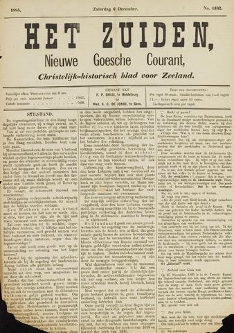 Het Zuiden, Christelijk-historisch blad 1885-12-05