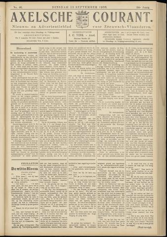 Axelsche Courant 1938-09-13