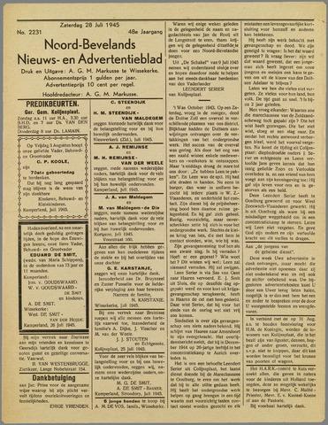 Noord-Bevelands Nieuws- en advertentieblad 1945-07-28