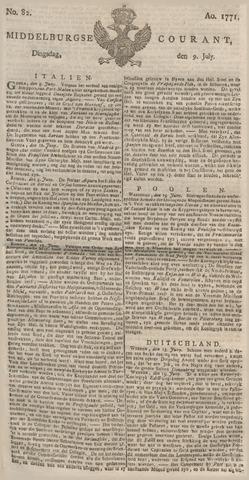 Middelburgsche Courant 1771-07-09