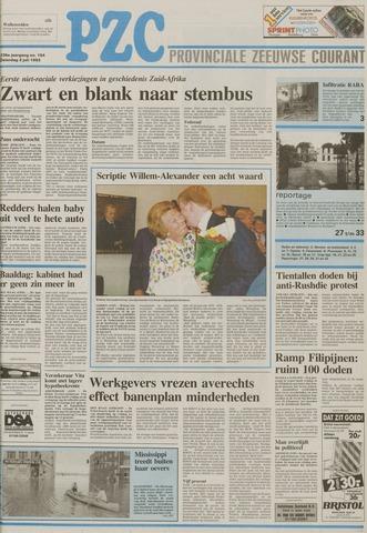 Provinciale Zeeuwse Courant 1993-07-03