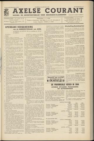 Axelsche Courant 1965-01-23