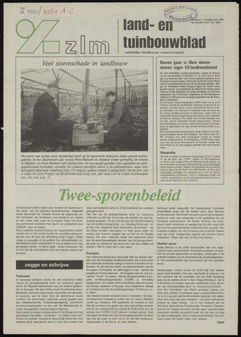Zeeuwsch landbouwblad ... ZLM land- en tuinbouwblad 1990-02-02