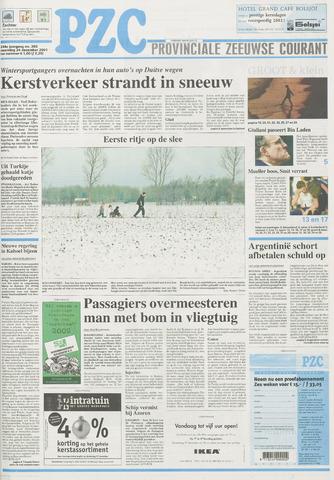 Provinciale Zeeuwse Courant 2001-12-24