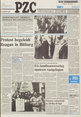 Provinciale Zeeuwse Courant 1985-05-06