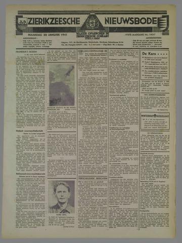 Zierikzeesche Nieuwsbode 1941-01-20