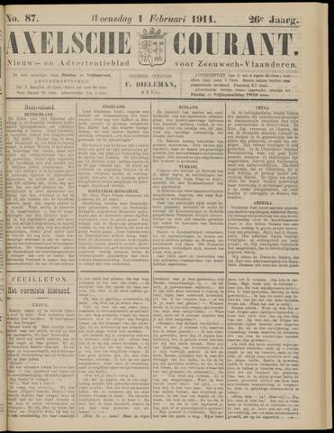 Axelsche Courant 1911-02-01