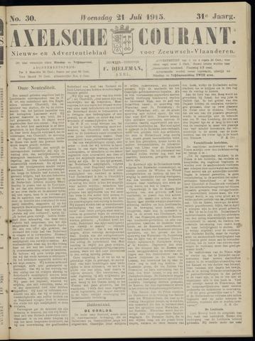 Axelsche Courant 1915-07-21