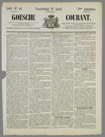 Goessche Courant 1883-04-19