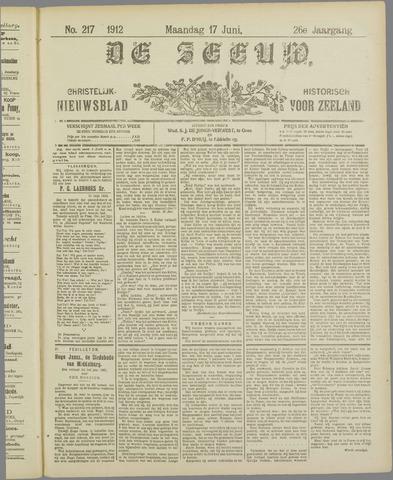 De Zeeuw. Christelijk-historisch nieuwsblad voor Zeeland 1912-06-17