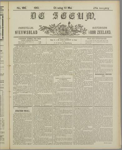 De Zeeuw. Christelijk-historisch nieuwsblad voor Zeeland 1910-05-10