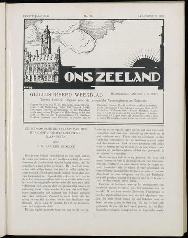 Ons Zeeland / Zeeuwsche editie 1926-08-14