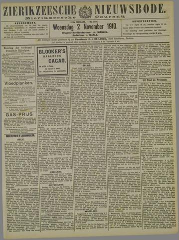 Zierikzeesche Nieuwsbode 1910-11-02