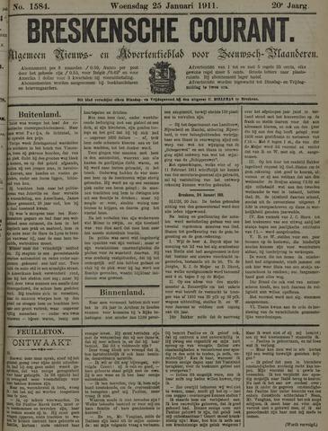Breskensche Courant 1911-01-25