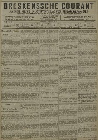 Breskensche Courant 1929-02-09
