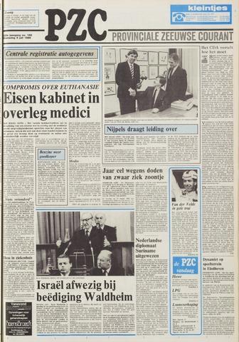 Provinciale Zeeuwse Courant 1986-07-09
