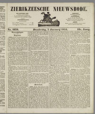 Zierikzeesche Nieuwsbode 1854-01-05