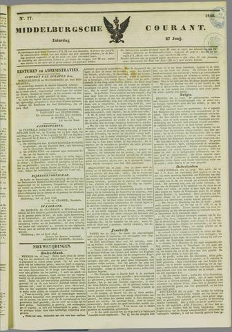 Middelburgsche Courant 1846-06-27