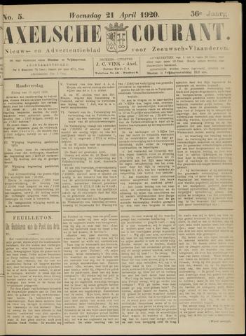 Axelsche Courant 1920-04-21