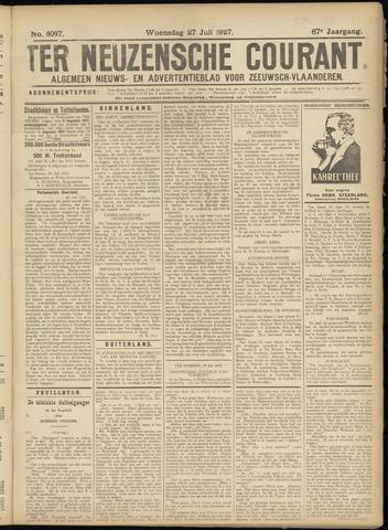 Ter Neuzensche Courant. Algemeen Nieuws- en Advertentieblad voor Zeeuwsch-Vlaanderen / Neuzensche Courant ... (idem) / (Algemeen) nieuws en advertentieblad voor Zeeuwsch-Vlaanderen 1927-07-27