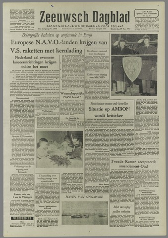 Zeeuwsch Dagblad 1957-12-19