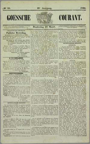 Goessche Courant 1862-03-27