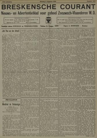 Breskensche Courant 1936-08-11