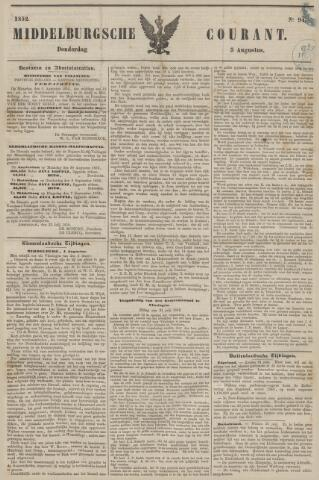 Middelburgsche Courant 1852-08-05