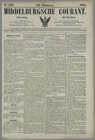 Middelburgsche Courant 1888-10-20