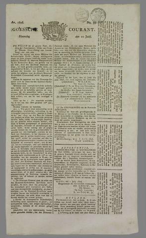 Goessche Courant 1826-07-10